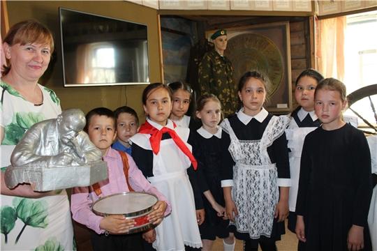 Посещение районного музея в день рождения пионерской организации