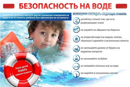 Об обеспечении безопасности людей на водных объектах в период купального сезона