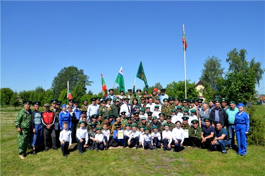 Ветераны пограничных войск Батыревского района отметили День пограничника