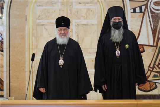 Епископ Алатырский и Порецкий Феодор награжден орденом преподобного Серафима Саровского III степени