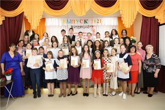 Торжественное вручение свидетельств в Батыревской детской школе искусств