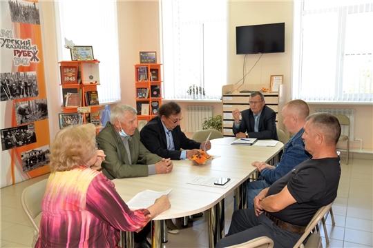 Внеочередное заседание Общественного совета района