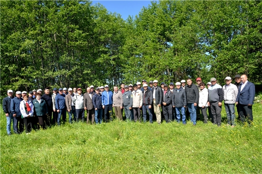 В Батыревском районе проведен осмотр полей