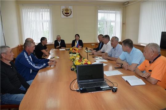 Совместное заседание организационного комитета по проведению традиционного районного праздника «Акатуй- Сабантуй» и руководителей федераций спорта