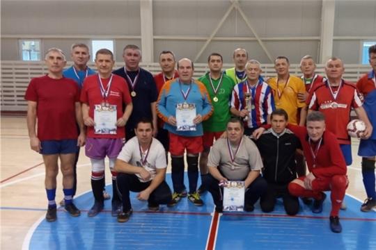 Традиционный районный Рождественских турнир по мини-футболу среди мужских команд-ветеранов.
