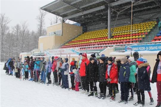 Рождественская лыжная гонка