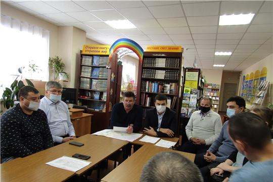 Рабочая встреча по строительству завода АБЗ в Синьял-Покровском сельском поселении