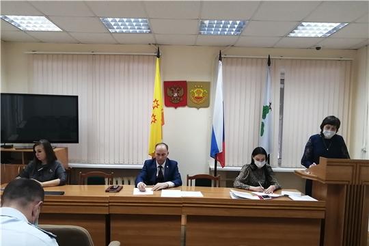 27 января состоялось очередное заседание комиссии по делам несовершеннолетних и защите их прав администрации Чебоксарского района в 2021 году