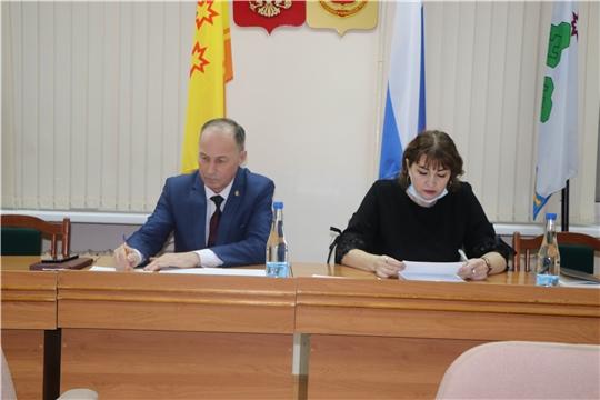 Заседание административной комиссии Чебоксарского района