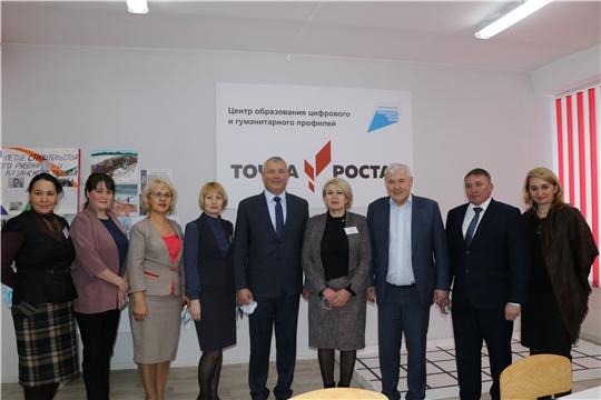 Анатолий Аксаков с рабочим визитом посетил Чебоксарский район