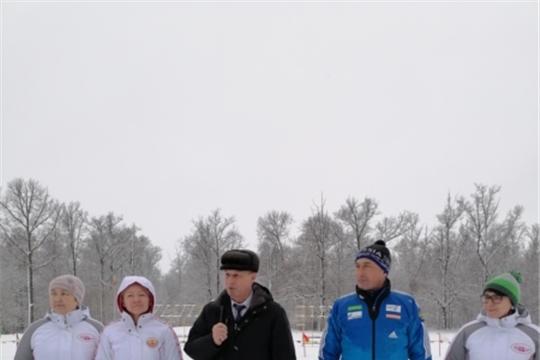 Лыжные гонки профсоюза работников здравоохранения России