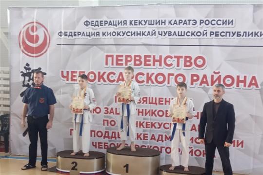 Открытое первенство Чебоксарского района по киокусинкай каратэ