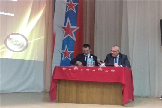 Состоялось отчетное собрание по социально-экономическому развитию Кугесьского сельского поселения за 2020 год