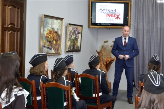 В Чебоксарском районе состоялось открытие Года, посвященного трудовому подвигу строителей Сурского и Казанского оборонительных рубежей