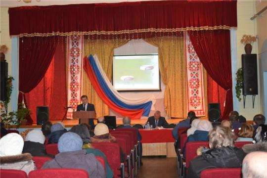 В Янышском сельском поселении подвели итоги социально-экономического развития за 2020 год.
