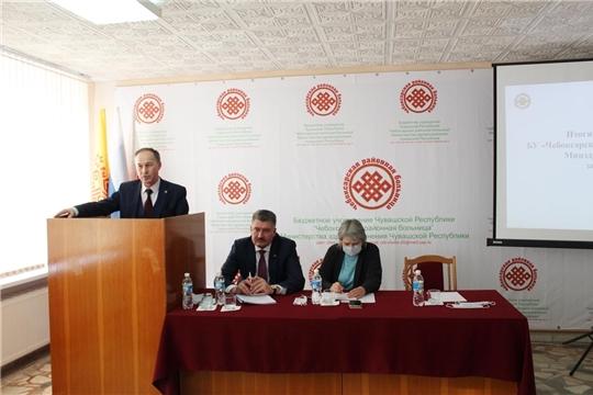 Подведены итоги работы Чебоксарской районной больницы за 2020 год