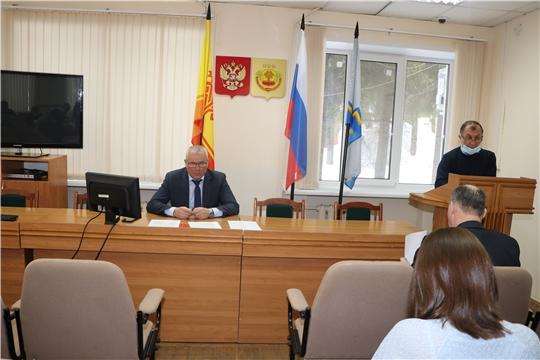 Заседание комиссии по предупреждению и ликвидации чрезвычайных ситуаций и обеспечению пожарной безопасности Чебоксарского района