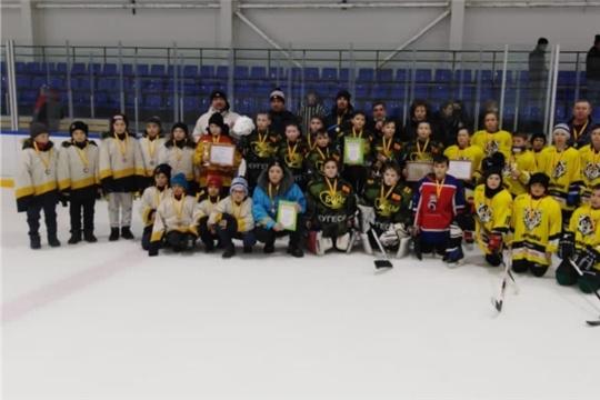 Полуфинальные и финальные игры по хоккею с шайбой «Золотая шайба». Младшая группа.