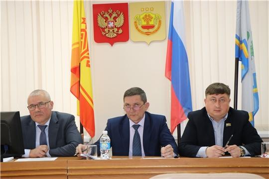 Состоялось пятое очередное заседание Собрания депутатов Чебоксарского района Чувашской Республики седьмого созыва