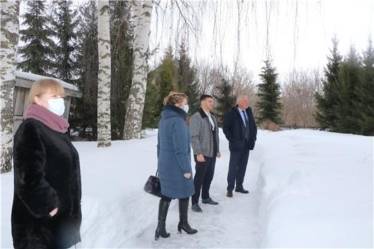 Глава администрации Чебоксарского района Николай Хорасёв посетил с.Ишаки