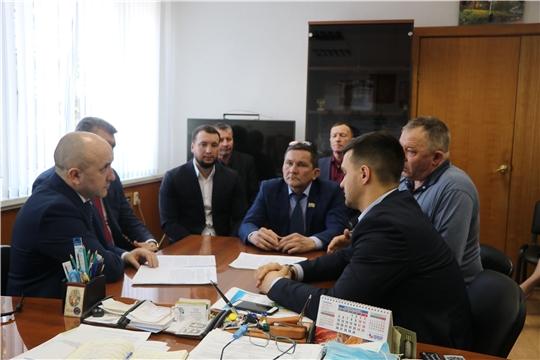 Министр сельского хозяйства Чувашии посетил Чебоксарский район