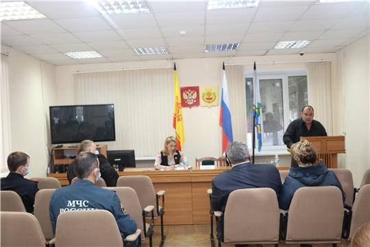 Состоялось заседание антитеррористической комиссии в Чебоксарском районе