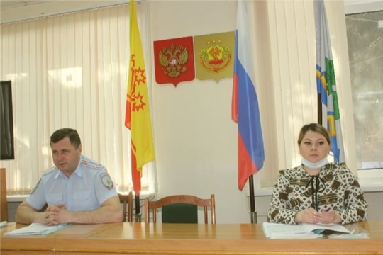 Заседание комиссии по профилактике правонарушений в Чебоксарском районе