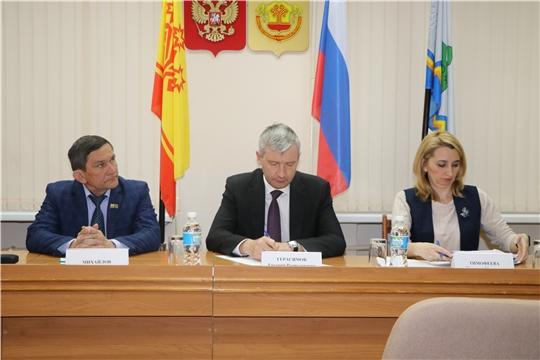 Чебоксарский район с рабочим визитом посетил министр промышленности и энергетики Чувашской Республики Евгений Герасимов