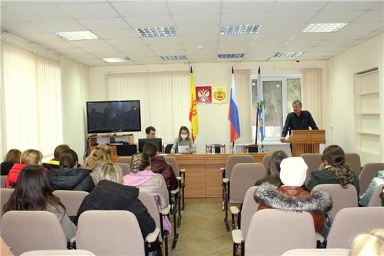 Первое организационное собрание добровольцев Чебоксарского района