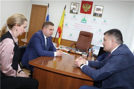 Чебоксарский район посетил Министр здравоохранения Чувашской Республики Владимир Степанов