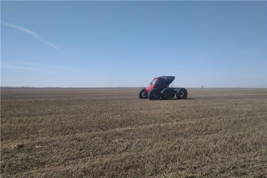 В Чебоксарском районе начались весенние полевые работы