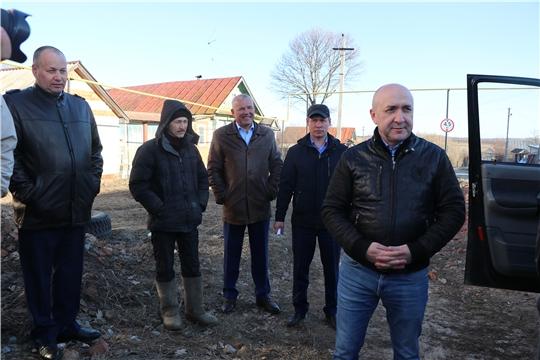 Сергей Артамонов ознакомился со сбором молока в Чебоксарском районе
