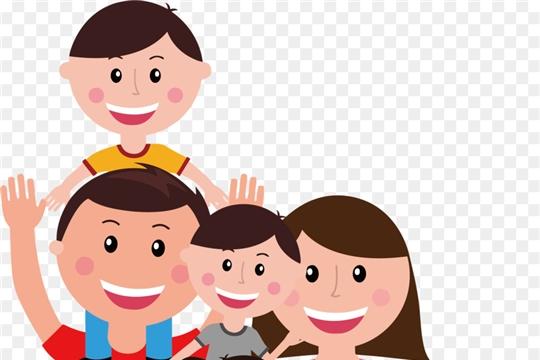 Меры социальной поддержки семьям с детьми в Чебоксарском районе  за 1 квартал 2021 г.