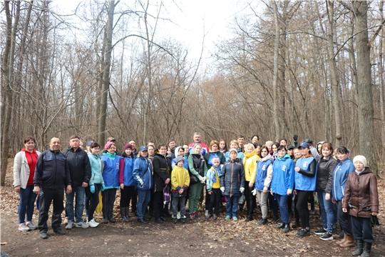 Жители Чебоксарского района приняли активное участие во Всероссийском субботнике 24 апреля