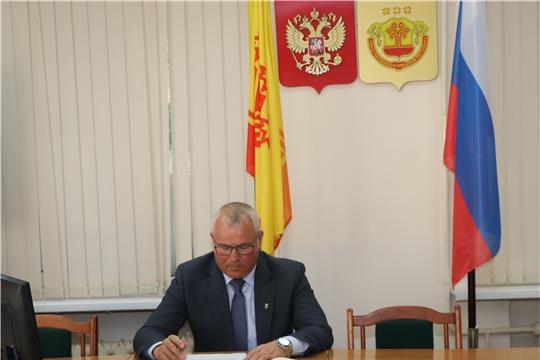 Глава администрации Чебоксарского района Николай Хорасёв провел еженедельное совещание
