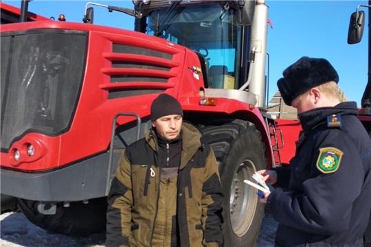 Смотр готовности сельскохозяйственных предприятий Чебоксарского района к весеннее-полевым работам 2021 года.