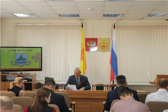 Очередное заседание районной комиссии по предупреждению и ликвидации чрезвычайных ситуаций и обеспечению пожарной безопасности