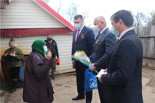 В Чебоксарском районе вдовам участников ВОВ вручили подарки
