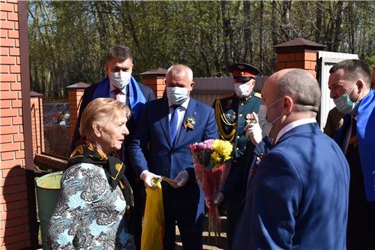 Николай Хорасёв преддверии Дня Победы поздравил ветеранов
