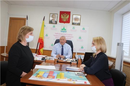 Глава администрации Чебоксарского района рассмотрел обращения граждан
