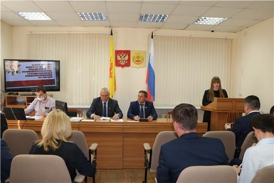 Николай Хорасёв провел еженедельное совещание