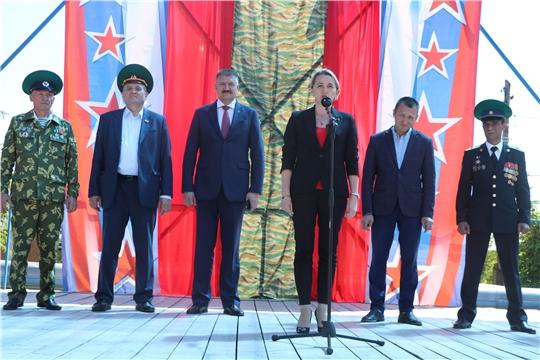 В Чебоксарском районе состоялось торжественное мероприятие, посвященное Дню пограничника