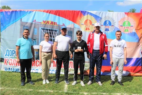 Состоялась 54-ая легкоатлетическая эстафета на призы газеты «Тăван Ен»