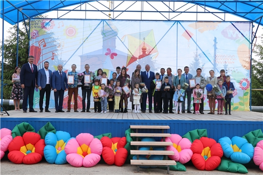 В Чебоксарском районе прошёл праздник, посвященный Международному дню защиты детей