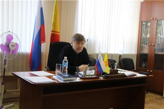 Член Общественного совета при Главе Чувашской Республики Игорь Кортунов провел личный прием граждан