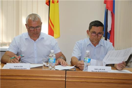 Заседание районной общественной организации «Землячество Чебоксарского района»