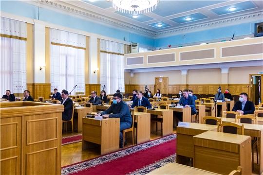 В Чебоксарах состоялось первое заседание Молодежного парламента при Чебоксарском городском Собрании депутатов седьмого созыва