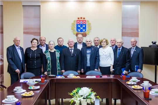 Состоялось первое заседание Совета старейшин при Чебоксарском городском Собрании депутатов седьмого созыва