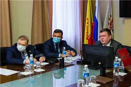 Состоялось заседание Президиума Чебоксарского городского Собрания депутатов