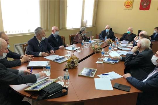 Состоялось заседание Совета старейшин при Чебоксарском городском Собрании депутатов седьмого созыва